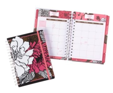 Vera Bradley planner, a little pricey than one should pay for a planner ($18) but so cute and super usable!