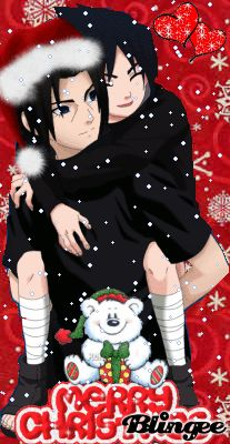 Itachi And Sasuke - Xmas