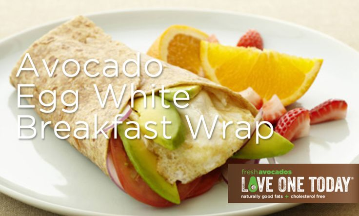 Make your egg white breakfast better by adding the wonderful nutrients in #avocados.