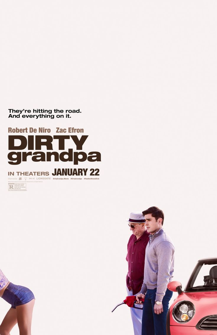 Dirty Grandpa (2016) ~ Aubrey Plaza is the only good thing that happened in this movie! Yeah I'm talking about the face that you cant see in the poster :P