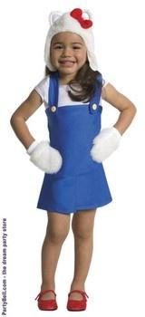 Hello Kitty Blue Romper Toddler Costume $27.62