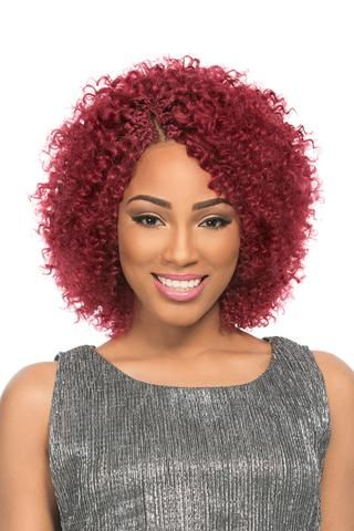 Sensationnel 100% Remi Human Hair Crochet Braids Berry