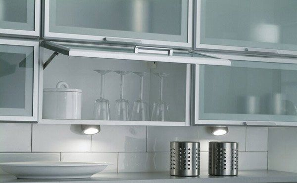16 Metal Kitchen Cabinet Ideas Home Design Lover Glass Fronted Kitchen Cabinets Aluminum Kitchen Cabinets Glass Kitchen Cabinets