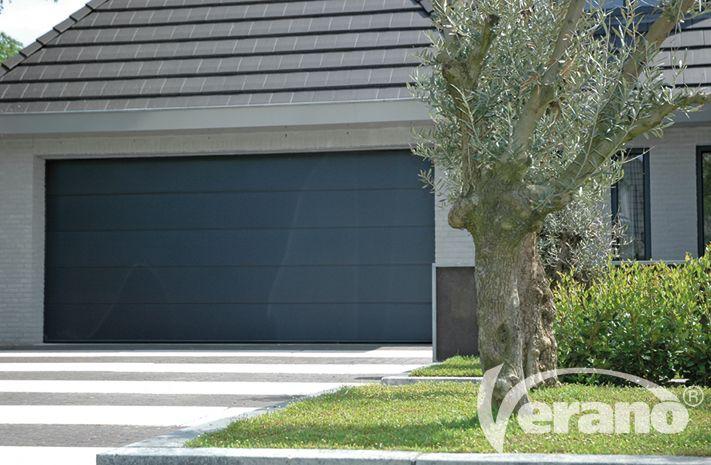 Een Verano® #garagedeur: robuust en uiterst comfortabel in bediening #Verano #garagedoor