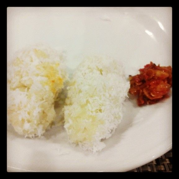 Putu palu. Indonesian traditional food