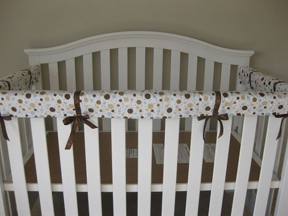 Crib Teething Guards for Convertible Cribs 3pc by kimscherer