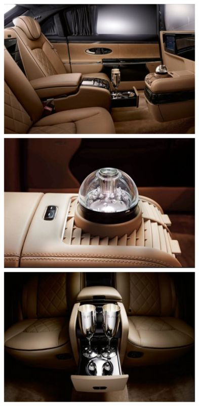 Mayback Zeppelin Perfume Atomizer - 10 Ridiculously Expensive Car Options! You won't believe how much this option costs!? #spon #luxury