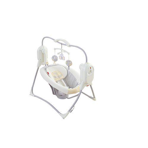 Fisher Price Power Plus Spacesaver Cradle N Swing