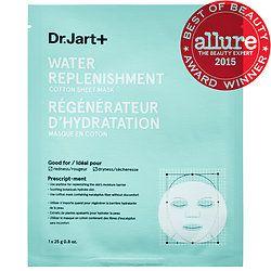 Dr. Jart+ - Water Replenishment Cotton Sheet Mask #sephora