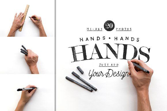 20 Overhead Hand Photos by Means For Makers on @creativemarket