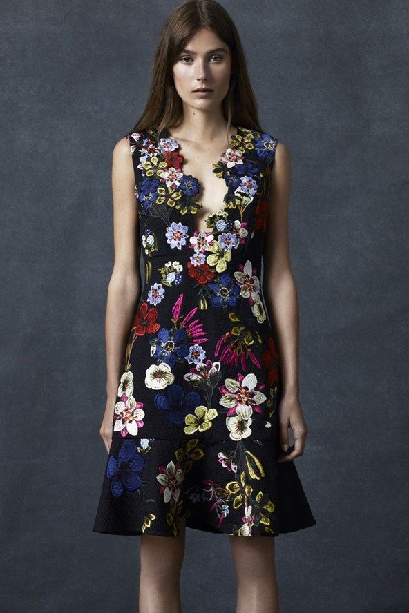 Erdem Pre-Spring/Summer 2016 collection. Click through to see the full gallery on Vogue.co.uk.