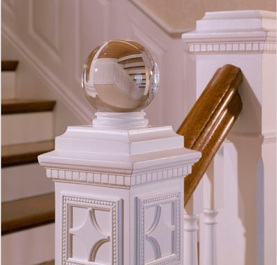 Finials Staircase Design Ideas, Pictures, Remodel And Decor