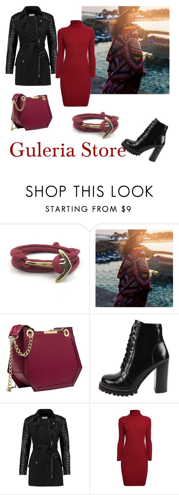 """""""Guleria store contest"""" by mary909090 ❤ liked on Polyvore featuring Jeffrey Campbell, W118 by Walter Baker and Rumour London"""