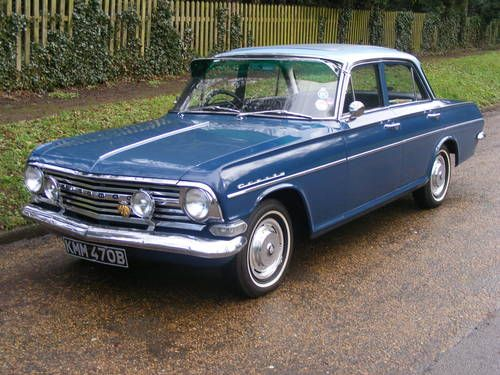 Vauxhall PB Cresta 3.3 (1964) Fast! Comfortable but Ugly :-( ....... checkfred.com ..........