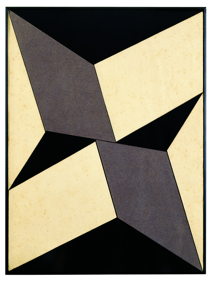 A painting from the 'Plano' series by Brazilian painter & installation artist Lygia Clark (1920-1988). via das artes
