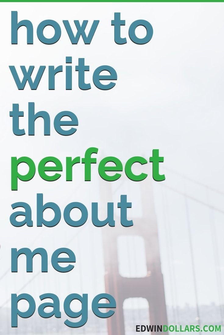 How To Write An About Me Page For A Blog Free Template About Me Page Writing Writing Blog Posts