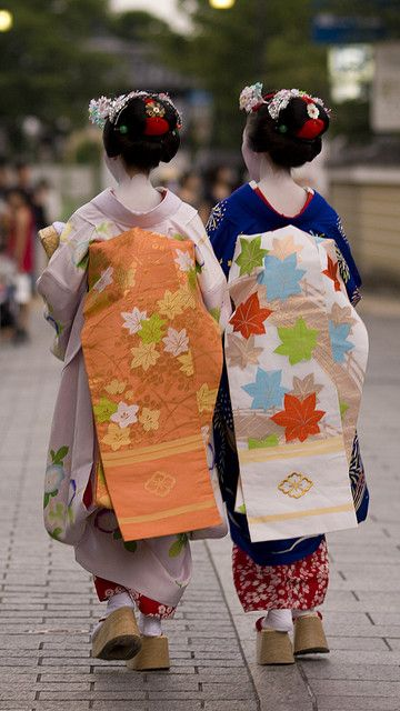Maiko on Streets of Kyoto