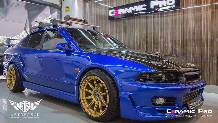 Mitsubishi Galant VR-4 is protected by Ceramic Pro Light. #ceramicpro #automotive #lifestyle #nanoceramic #paintprotection #nanocoating #paintcoating #ceramiccoating #detailing #mitsubishi #galant #kazahstan