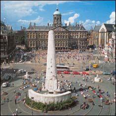 Dam Square, Amsterdam, Netherlands - June 2013