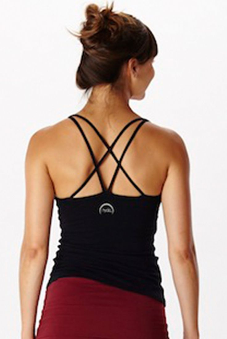 Hyde Taylor Yoga Tank in Black