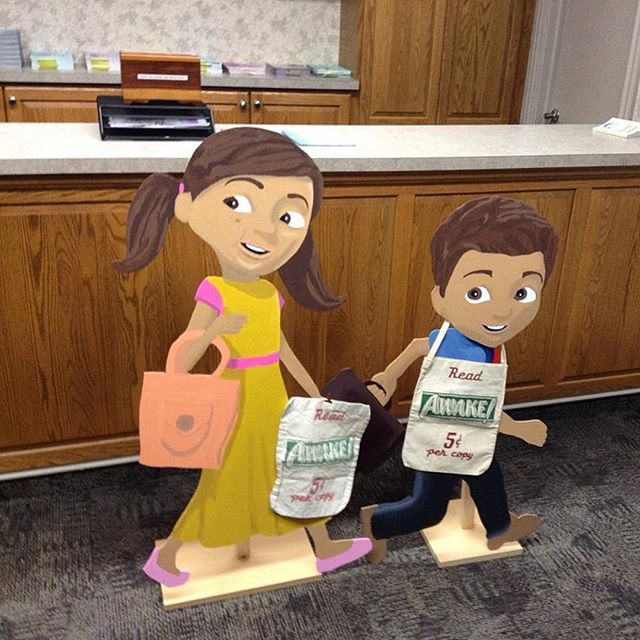 Caleb and Sophia made by a sister in Oakland Maryland USA. Photo shared by @that1fisherman