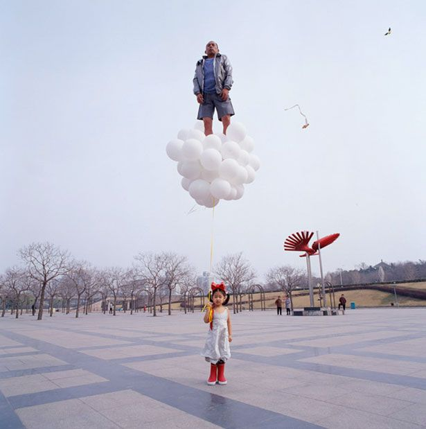 The Unbelievable and Impossible Photos of Li Wei | Webdesigner Depot. The whole series is amazing, but this one is my fav.