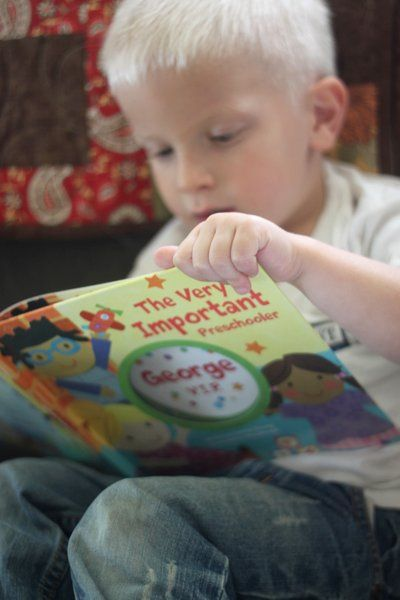 Personalized Books for Kids from Babies to Preschoolers - These are fabulous! Great gift idea!  (From Hands on As We Grow)