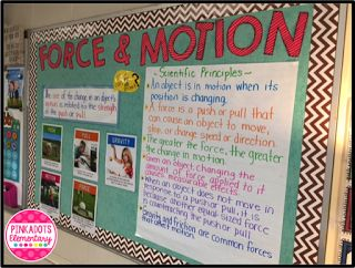 Force & Motion- How to write scientific explanations using the student friendly gradual release model!