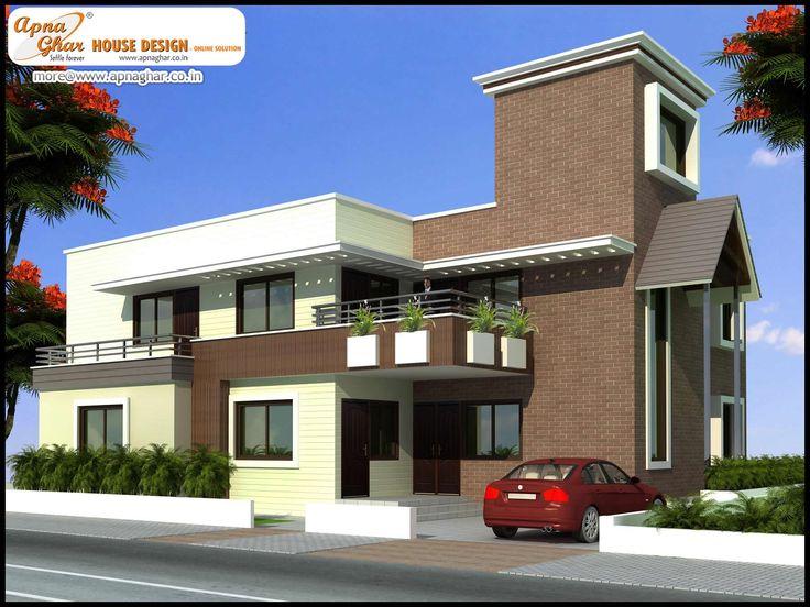 5 Bedroom Duplex 2 Floor House Design Area 357m2 21m