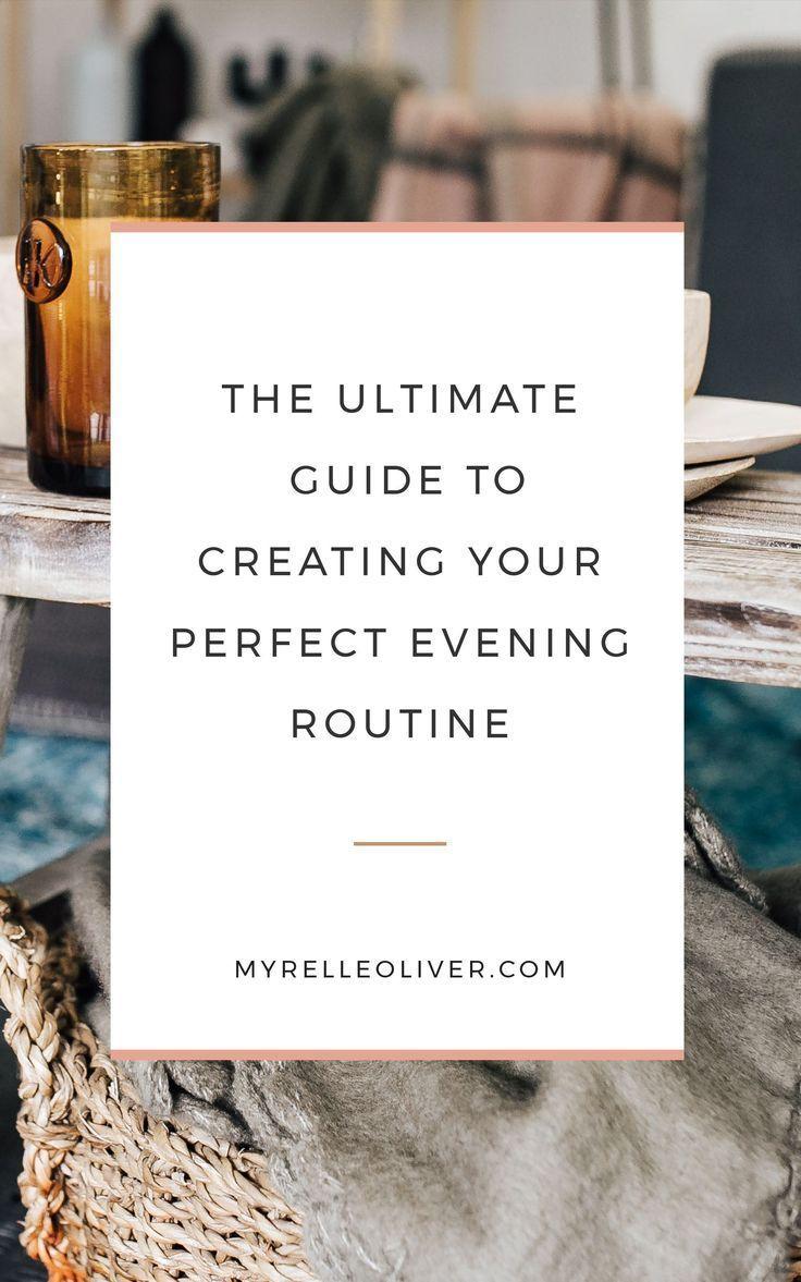 #Abend #Routine #Morgen #Nacht #Produktivität #Das    – Daily Routine