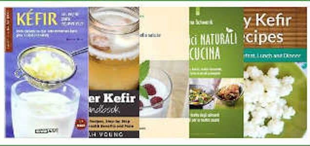 Il Kefir d'acqua è una bevanda probiotica a base di grani di kefir, acqua naturale e un dolcificante naturale. E' dunque possibile ottenere un buonissimo Ke