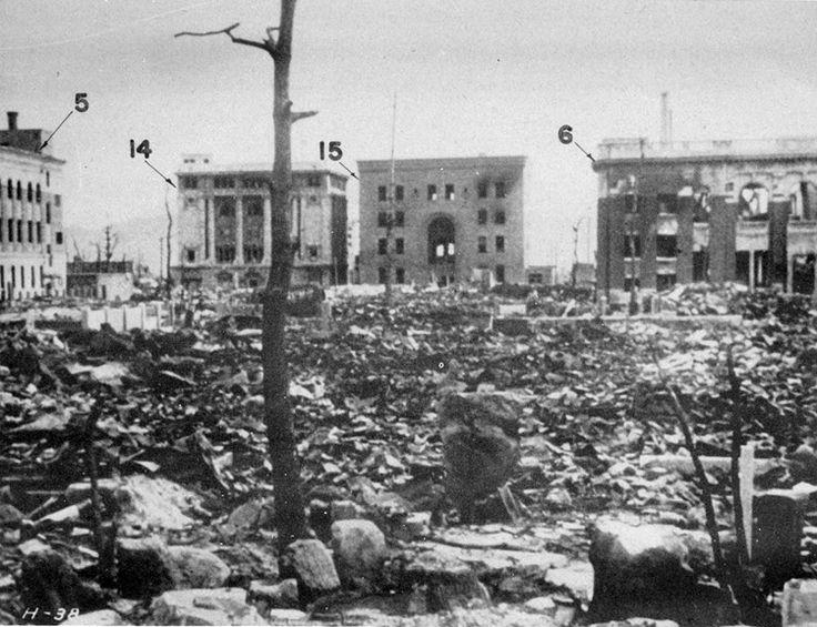 atomic bombings of hiroshima and nagasaki   Modern Nuclear Bomb Blast Radius - allworldwars.com