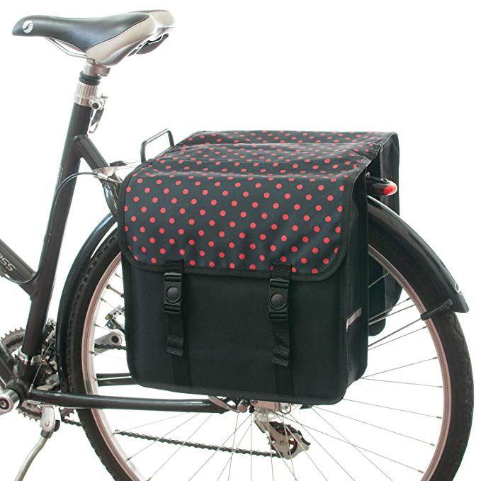 Beluko Classic Double Panniers Bag Fashion Bicycle Cycle Bike