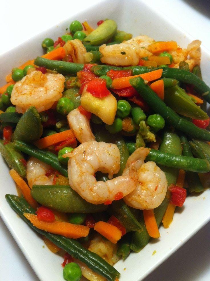 Shrimp Stir-Fry 21 Day Fix Style
