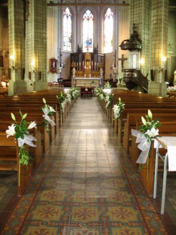 55 best images about d co mariage sur pinterest - Decoration eglise pour mariage ...