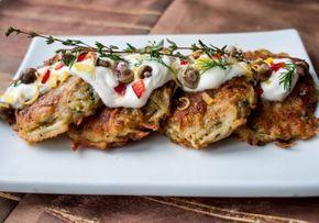 Zemiakovo-hubové placky - Recept pre každého kuchára, množstvo receptov pre pečenie a varenie. Recepty pre chutný život. Slovenské jedlá a medzinárodná kuchyňa