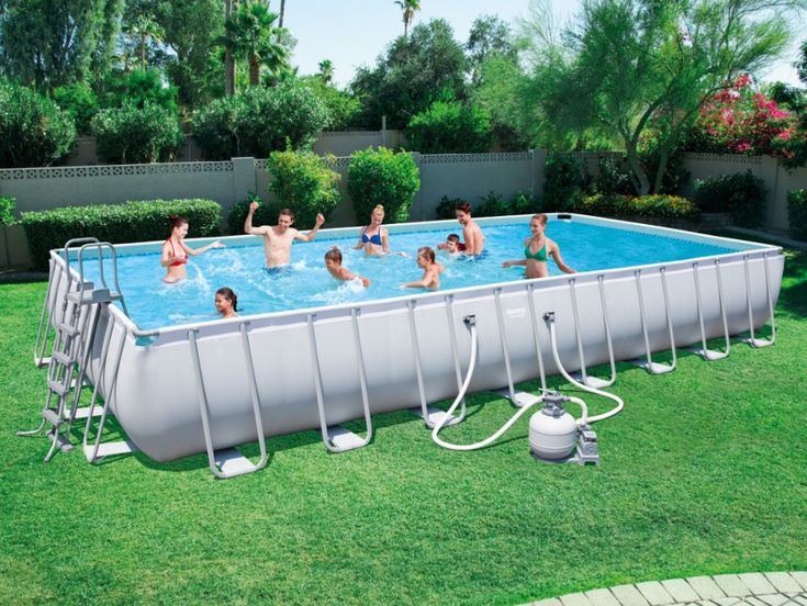 Best 25 piscine tubulaire rectangulaire ideas on pinterest - Piscine tubulaire bestway rectangulaire ...