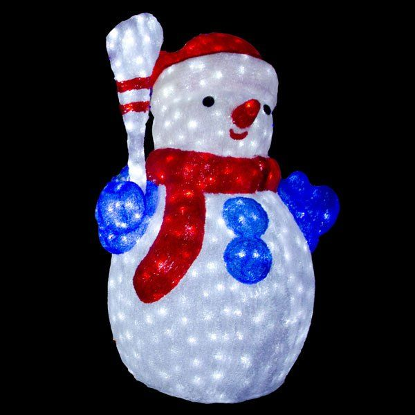 14 best led snowmen images on pinterest homemade ice snowman and outdoor xmas decorative led light up snowman aloadofball Images