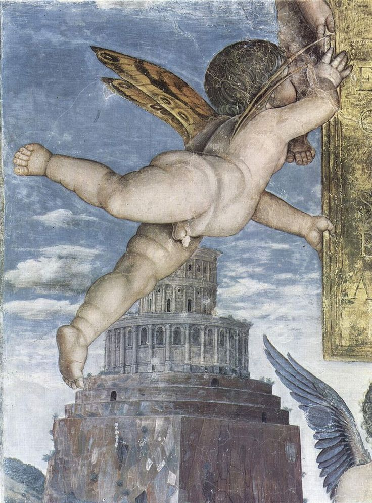 Andrea Mantegna, his cherubs are so dear, they are the soul of fatty little one year olds. JC