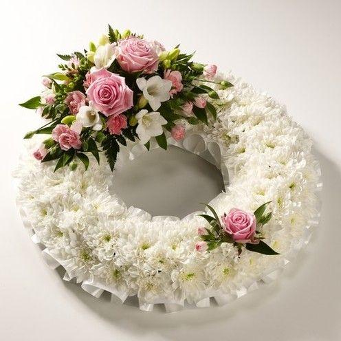 Classic White Wreath | Urban Design Flowers
