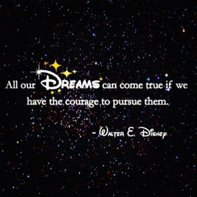 Dream Board: if Walt says it's true, then it MUST be true! :)