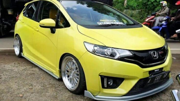 Modifikasi Mobil Honda Jazz Warna Kuning | Modifikasi ...