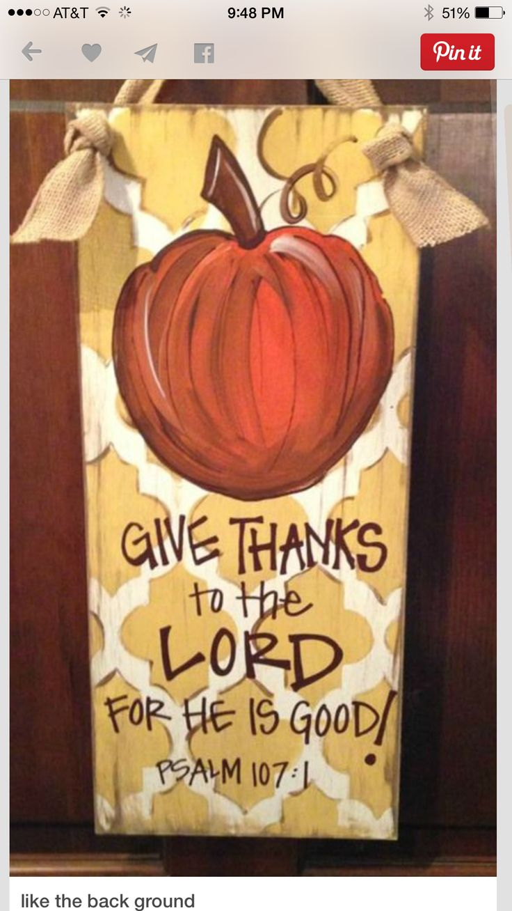 17 best images about hand painted wood crafts on pinterest Happy thanksgiving decorations
