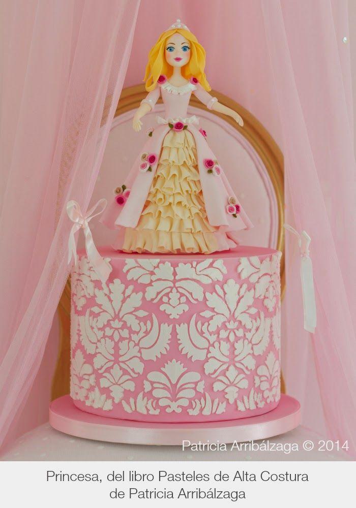 Princess cake / Tarta Princesa del libro Pasteles de Alta Costura de Patricia Arribálzaga