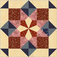 Country Rose Quilts: Luise - Block 08 Wo die Liebe hinfaellt