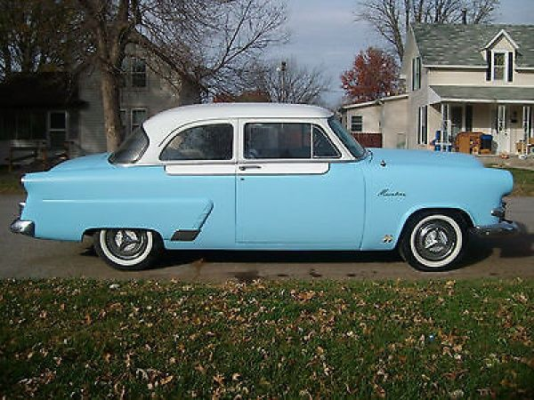 Ford other 2 door sedan 1953 53 ford mainline custom hot for 1953 ford 2 door coupe