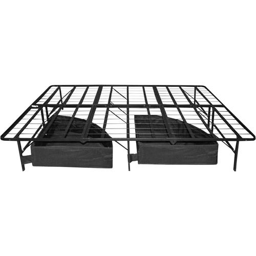 walmart premier roll n store under bed drawers 10 height with casters bed frame with storageunder - Under Bed Storage Frame