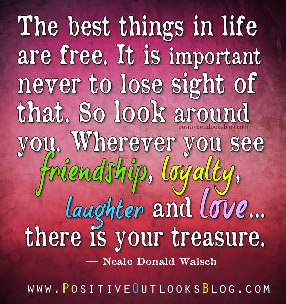 the importance of having a loyal friend in life Trust, loyalty, truthfulness, protection and integrity, all of these things stem from   trust would be an issue, how could i trust another human being if i had never   friendship is very important in life  and that is my point, friends make life better.