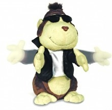 Cuddle Barn Mills Animated Chubby Chester Singing Lets Twist Again  $28.00 Sold at Baby Family Gifts Ebay  #ebay #stuffedanimals #sings #play #toy #kids