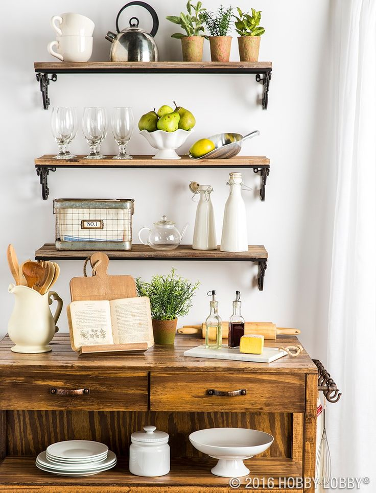 Captivating Give Your Kitchen A Modern Makeover With Open Shelving And Functional Accent  Pieces!
